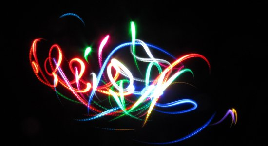 Lg light painting
