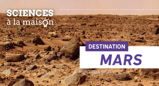 Lg sciences a la maison destination mars 2